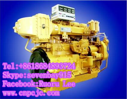4190ZLCZ-R 4 in-line marine diesel engines (180~330KW)