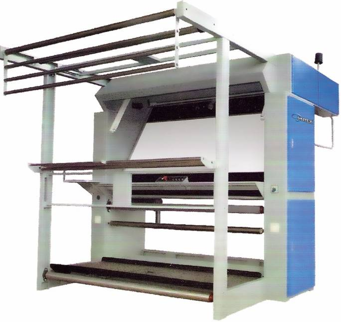 Simple Fabric Inspection Machine(with high plaiting speed)