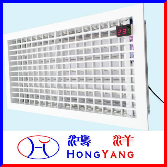 Any Size Wireless Remote Control Electric Supply Air Grille