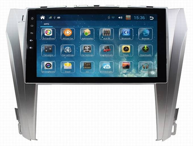 ouchuangbo Toyota Highlander 2015 android 4.2 radio 10.1 inch stereo