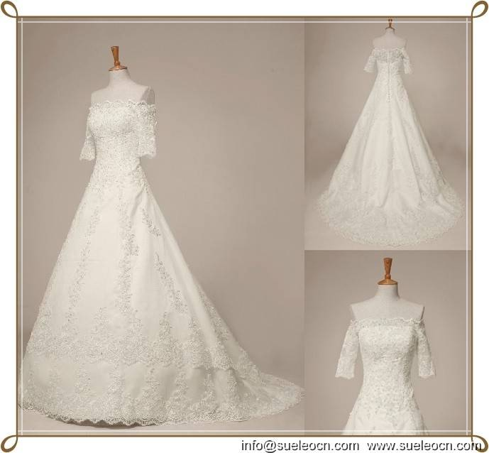 wedding dress and related accessories