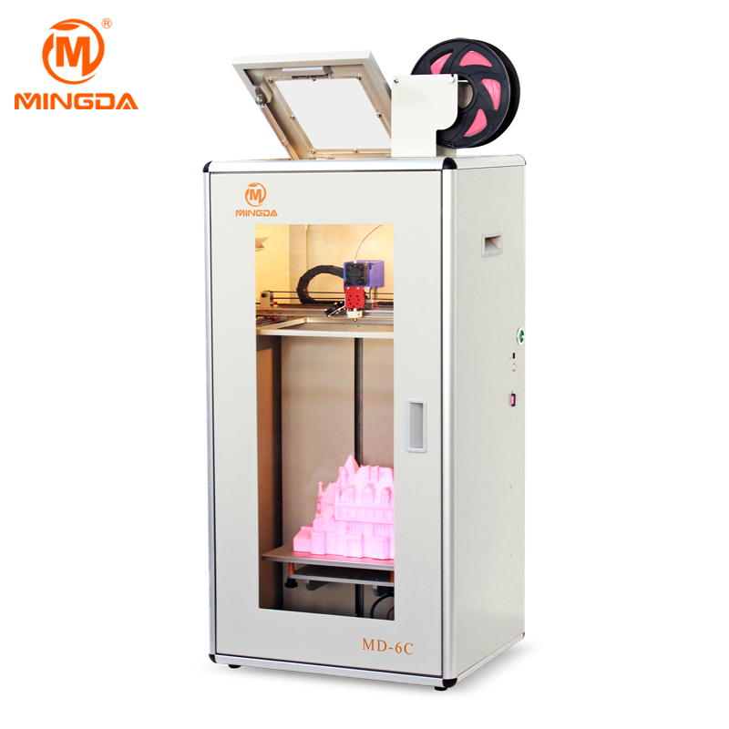 MINGDA MD-6C Desktop 3D Printer with PLA/ ABS Filament
