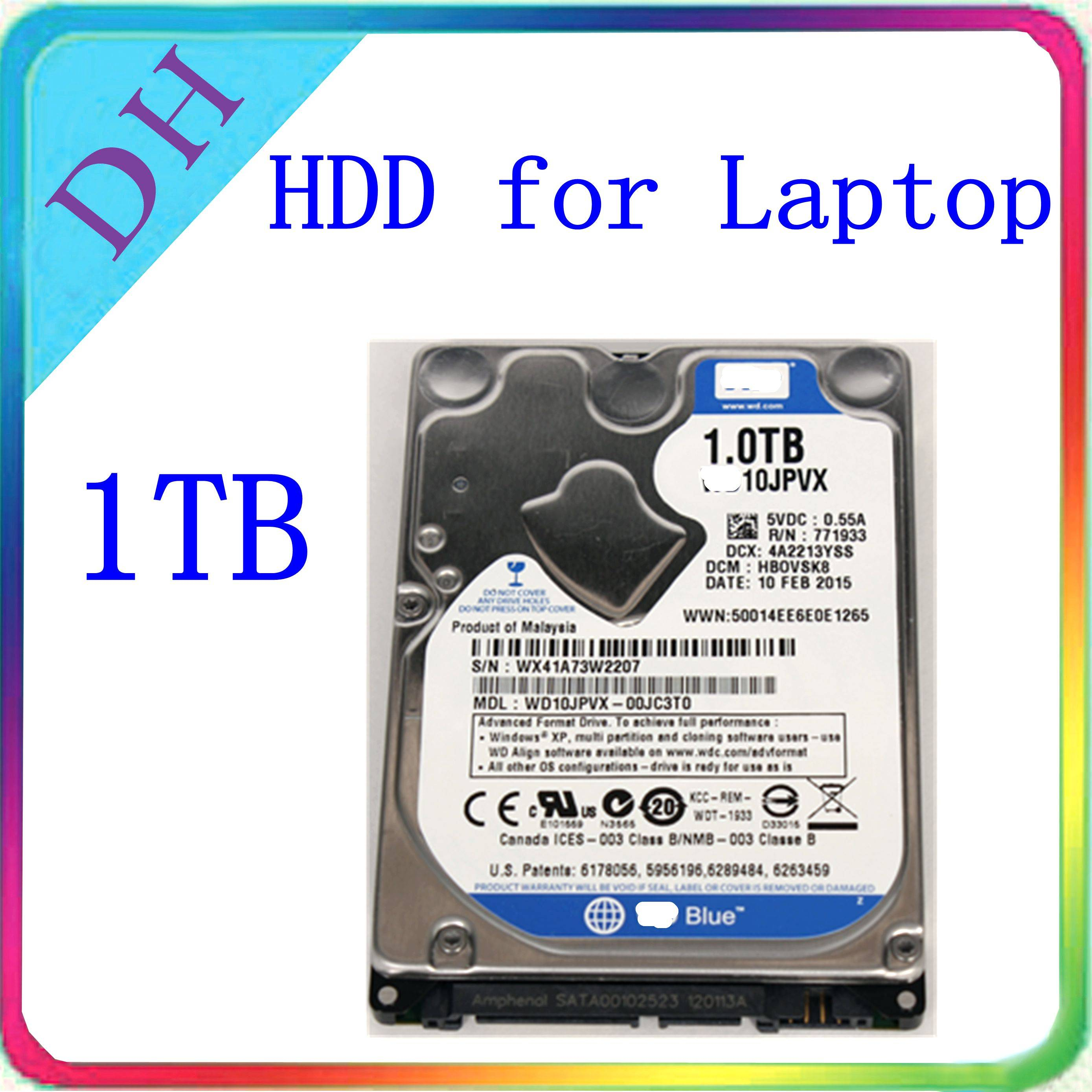 WD 100% Genuine Laptop hard drive 1tb 2.5'' internal hdd sata 8MB