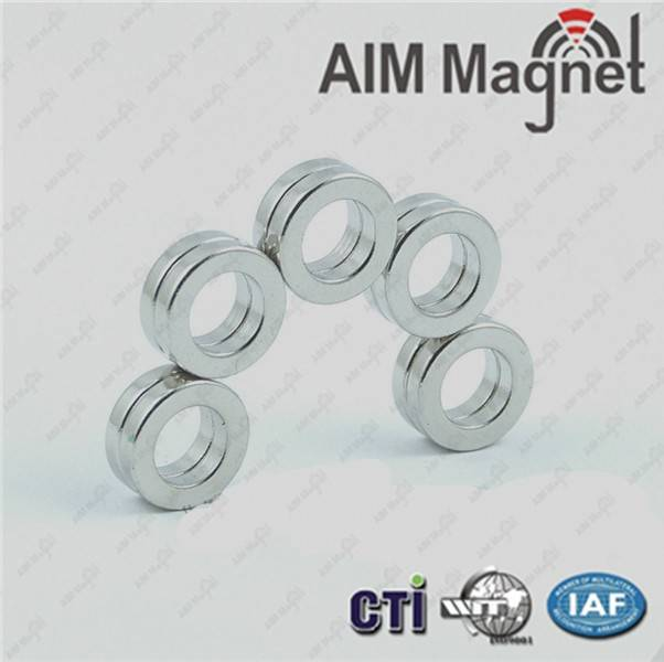 """Customized cheap price N42 Ring Magnet OD 1"""" x ID 1/2"""" x 1/4"""""""