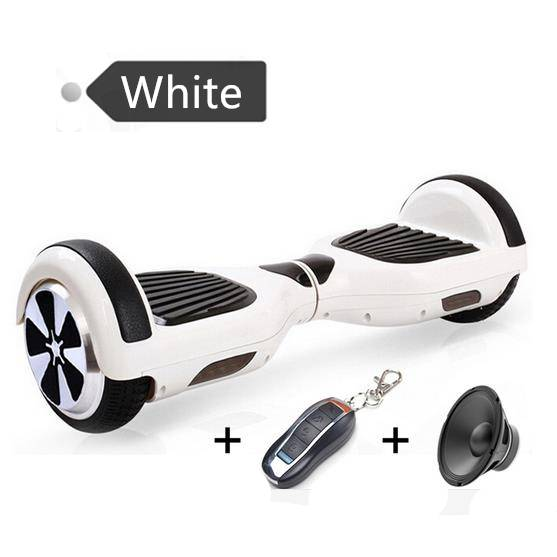 6.5 Inch Smart Self Balance Scooter Two Wheel Smart Self Balancing Electric Drift Board Scooter +rem