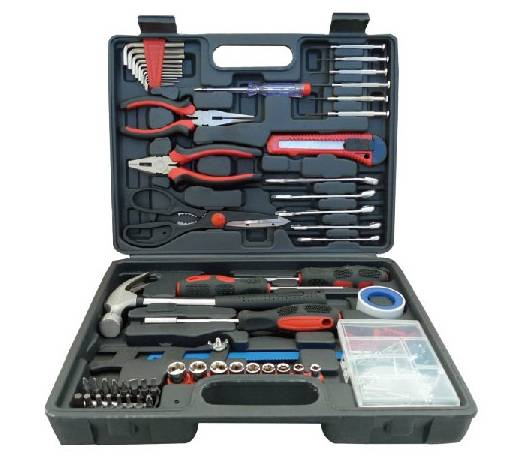 160PC Tool Set Box with Adjustable Wrenches, DIY Hand Tool Set