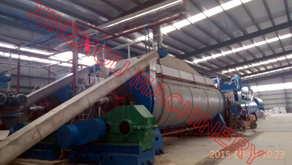 Complete fishmeal and oil production line