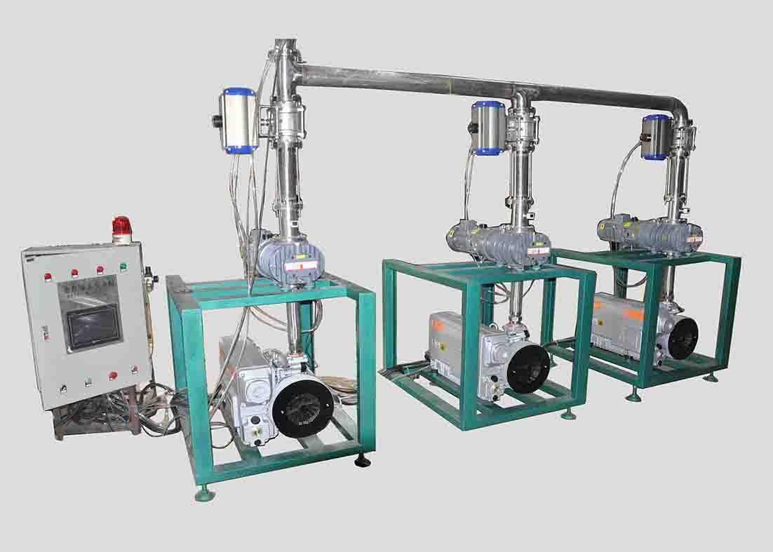 central vacuum pump plants