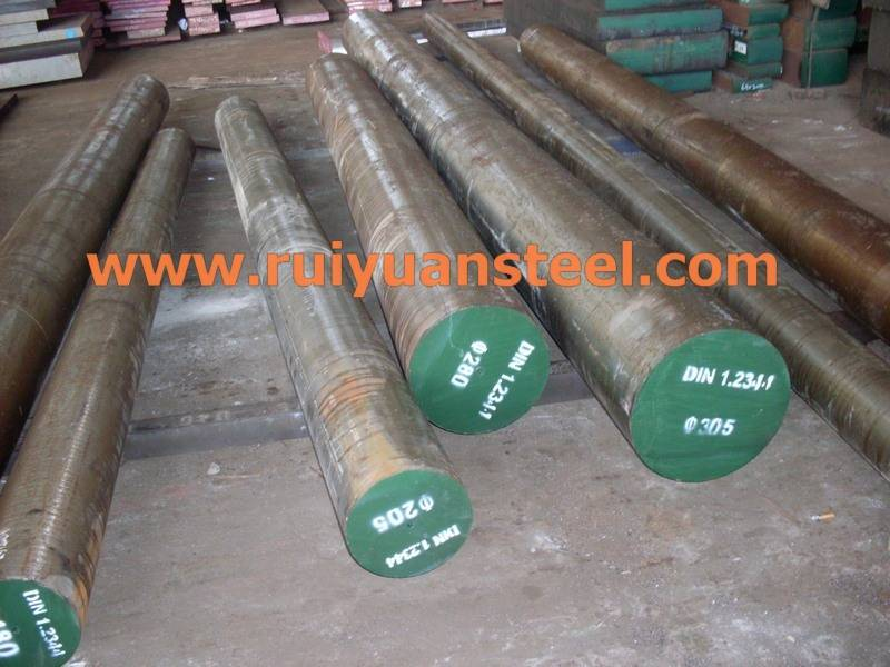 Hot Rolled Mould Steel Round Bar DIN 1.2311
