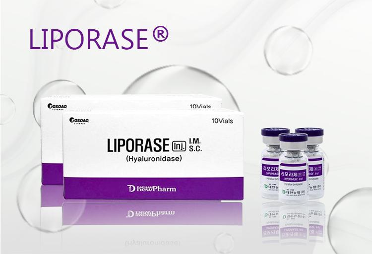 Liporase hyaluronidase Dissolves hyaluronic acid, Facial Dermal hyaluronidase for injection