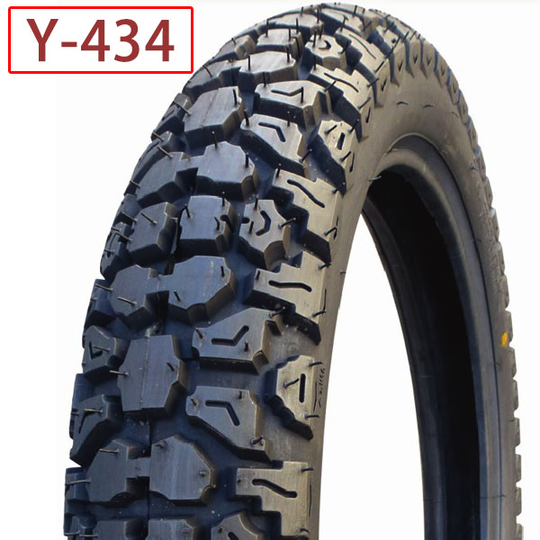 how is a motorcycle tire made