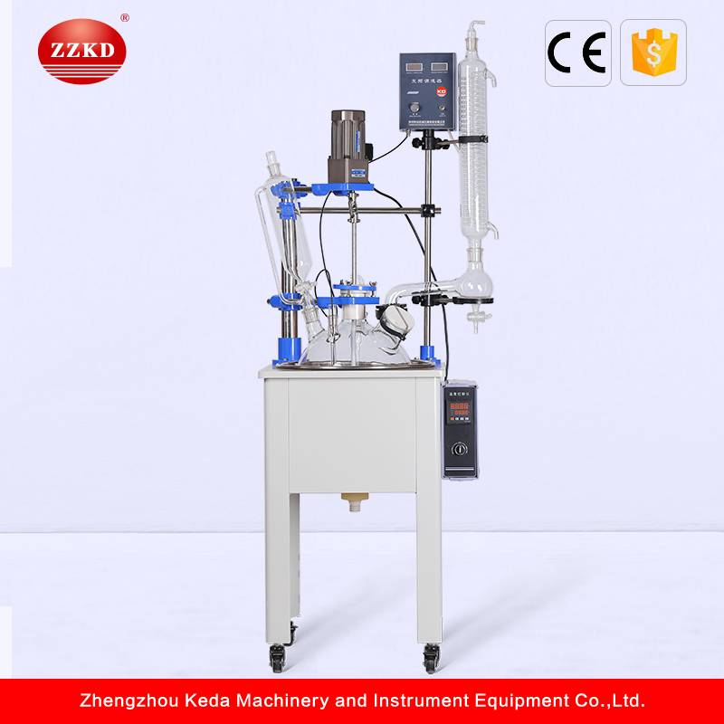 High Quality Laboratory Glass Reflux Condenser Reactor