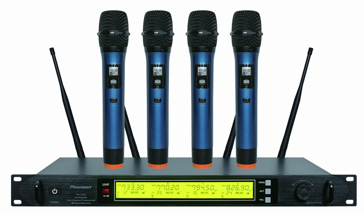 PU-4722 UHF Wireless microphone