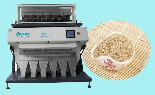 Millet color sorter with high definition and long working life