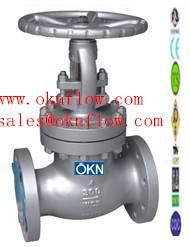 8  WCB/WCC/WC1 flanged globe valve