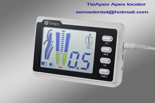 Digital apex locator with pulp tester