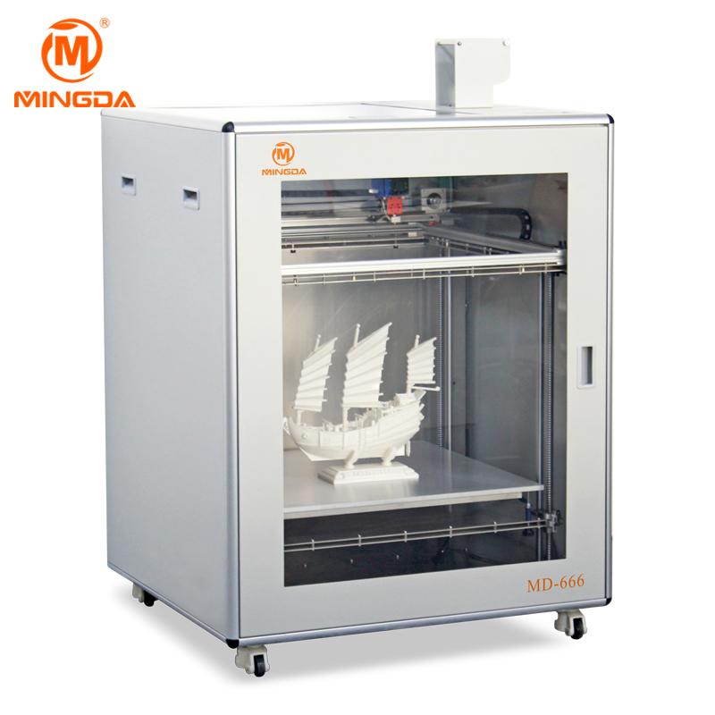 MINGDA Model MD-666 100010001130mm 3D Printer Machine for Sale