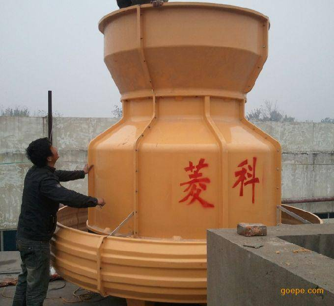 Round cooling tower for water treatment