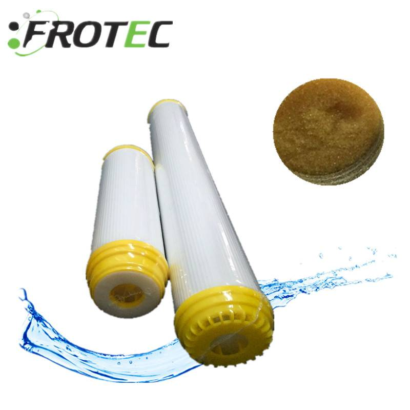 "10"" Softener water resin filter cartridge for drinking water"