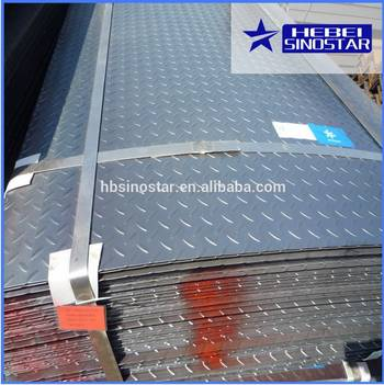 Hot Rolled Chequered Steel Sheets/Plates