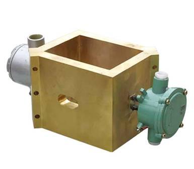 Cast copper heater