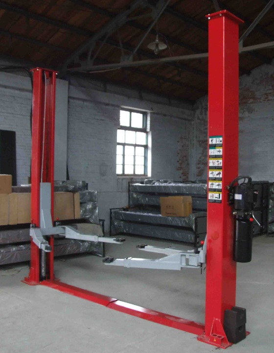 cheapr price 2 post hydraulic car lift 3500kgs/1800mm