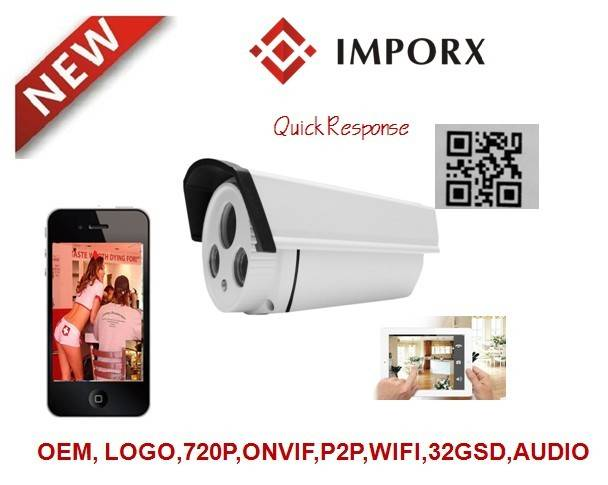 2014 hot selling products 1MP Wifi P2P hidden IP Camera with SD support Smart Phones,Onvif