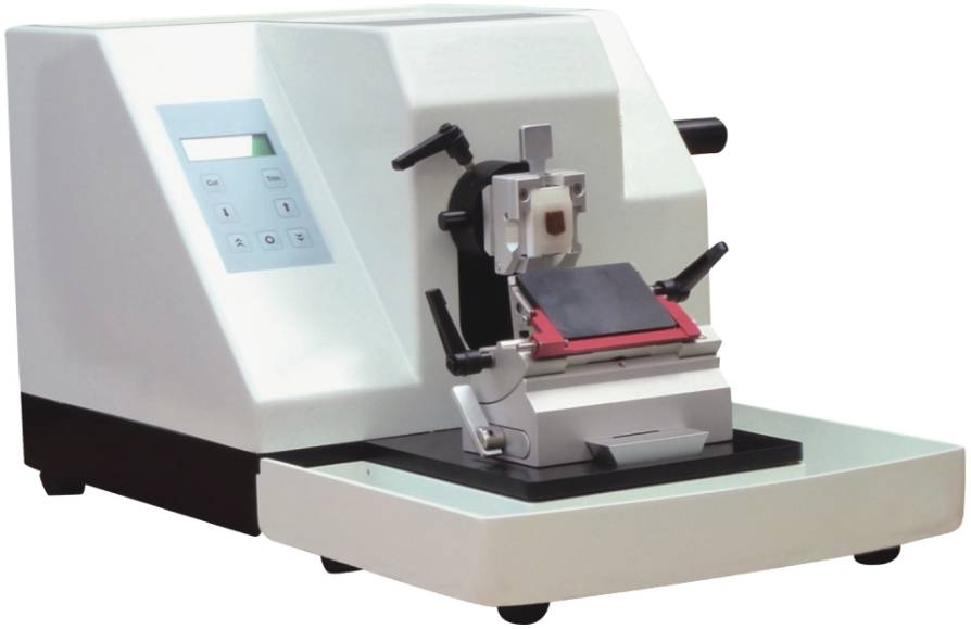 BZ-632 Semi Auto Microtome With Wide Thickness, Leica Quality