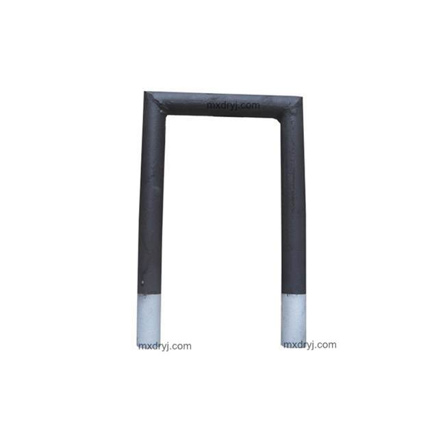 1650C customized high temperature resistance silicon carbide heating element sic heaters rod