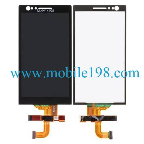 Mobile Phone LCD Touch Screen and Digitizer for Sony Xperia P Lt22 Spare Parts