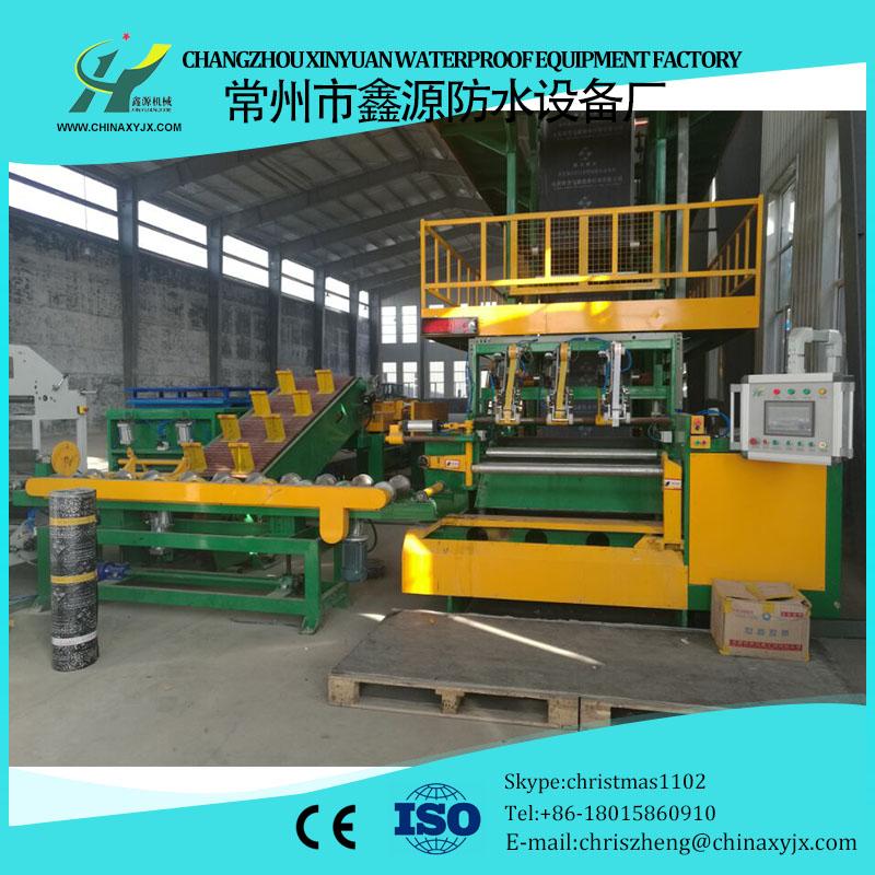 APP modified bitumen waterproof membrane production machinery
