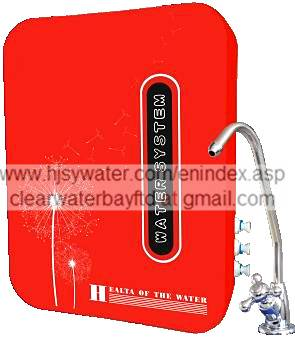 Wall-mounted LED water filter  (UF-5E)