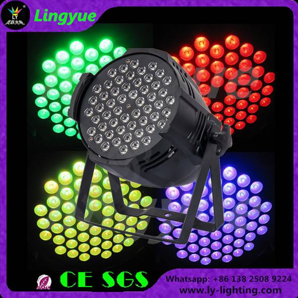 54X3W RGB 3in1 indoor led par