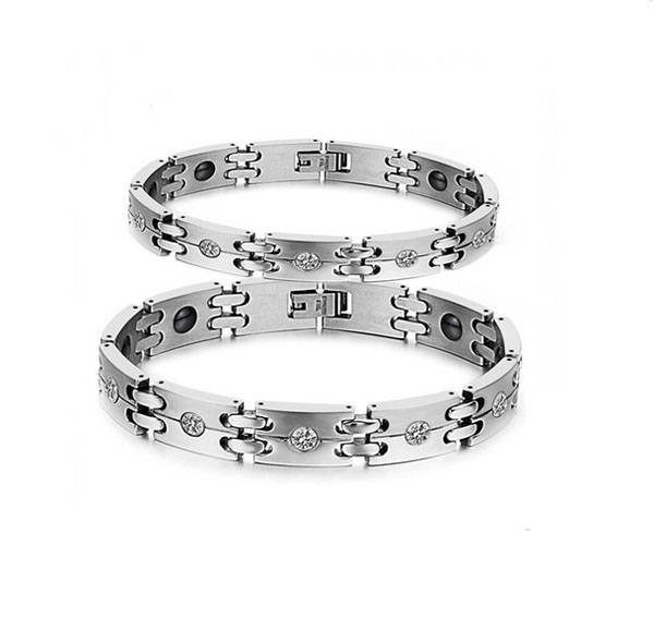 2016 new product germanium positive energy bracelet stainless steel bracelet