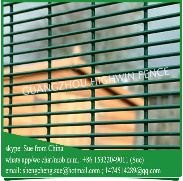 China factory Anti climb Prison mesh fence 358 fence for sale