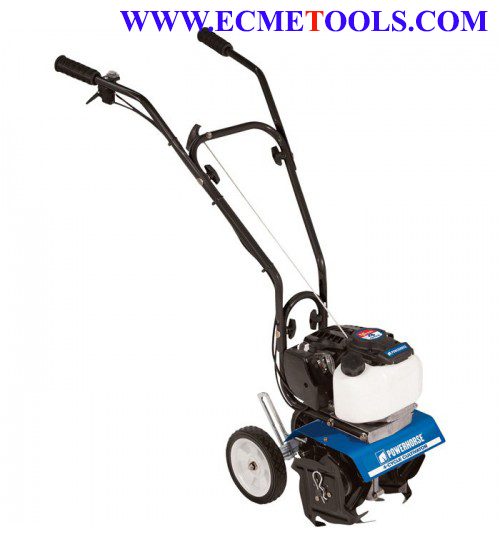 Powerhorse Mini Cultivator_10in Tilling Width_40cc 4 Cycle Viper Engine