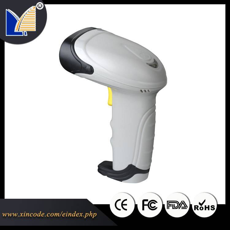 Handheld barcode scanner with ergonmic design comfortable to use