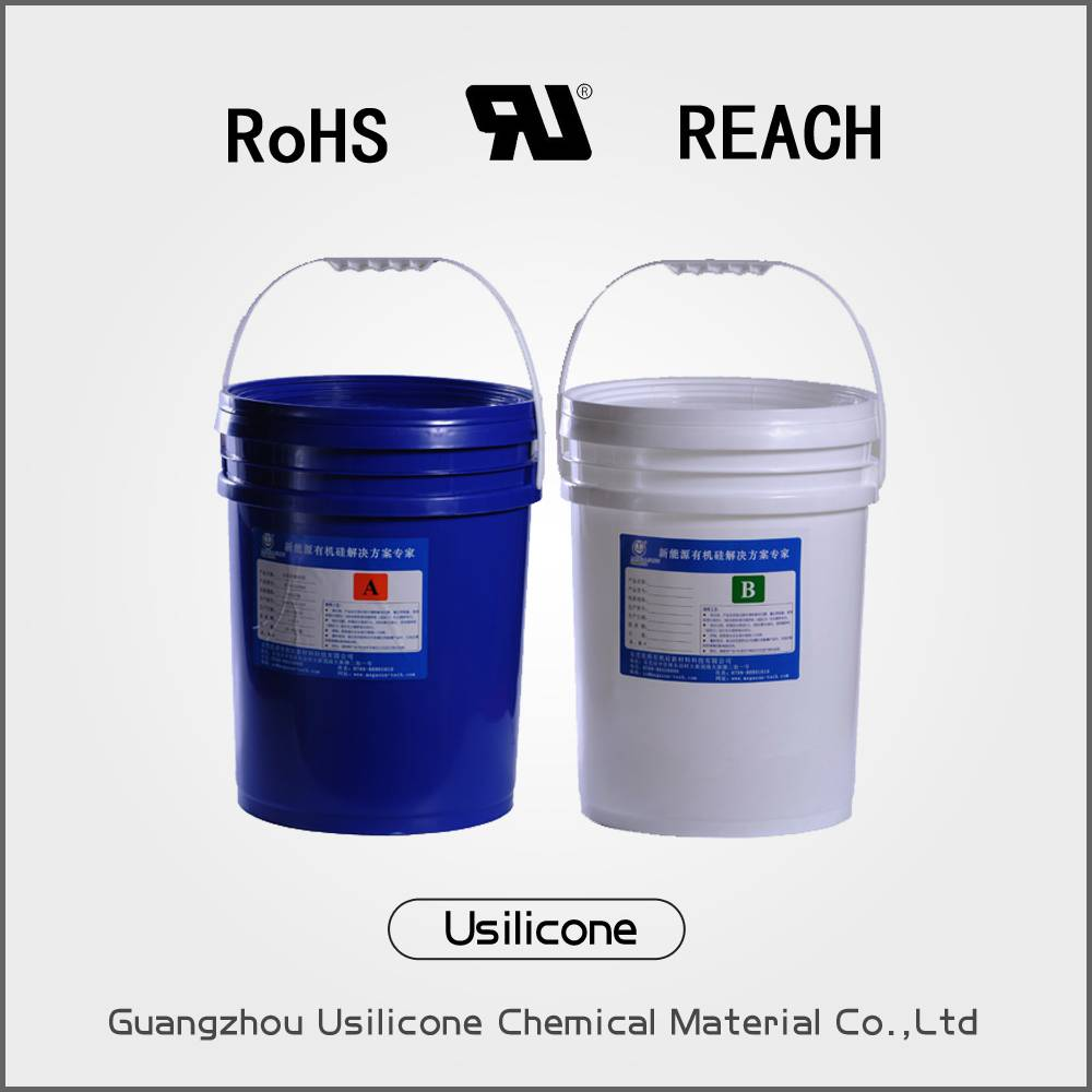 two-pack RTV silicone rubber with heat-sinking