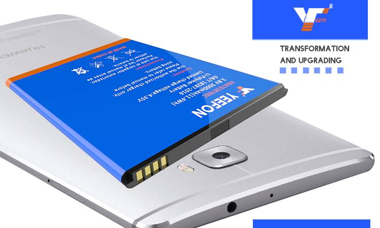 YEEFON Brand Battery For HUAWEI G750 Honor3X Cell Phone Stable Li-ion Battery Model HB476387RBC 3.7V
