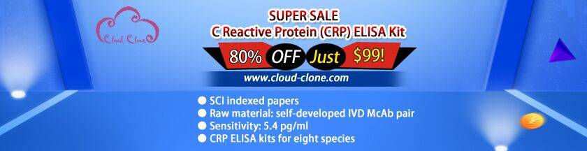 ELISA Kit for C Reactive Protein (CRP)-$99.00 per 96T