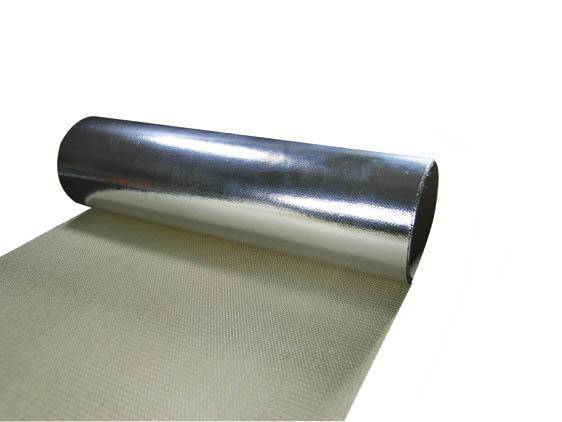Reinforced double-sided aluminum foil