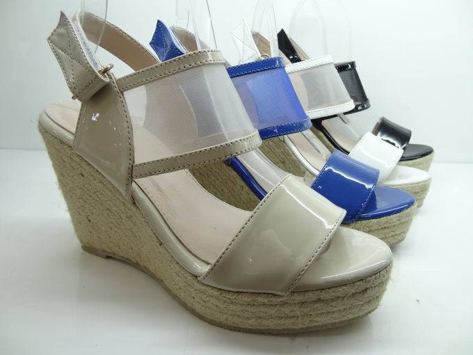 lady high heeled shoes,Wedges sandals