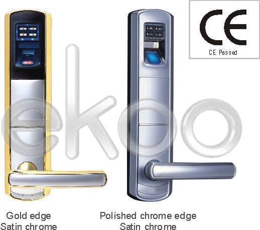 Keyless security fingerprint door lock w/ dead bolt A7