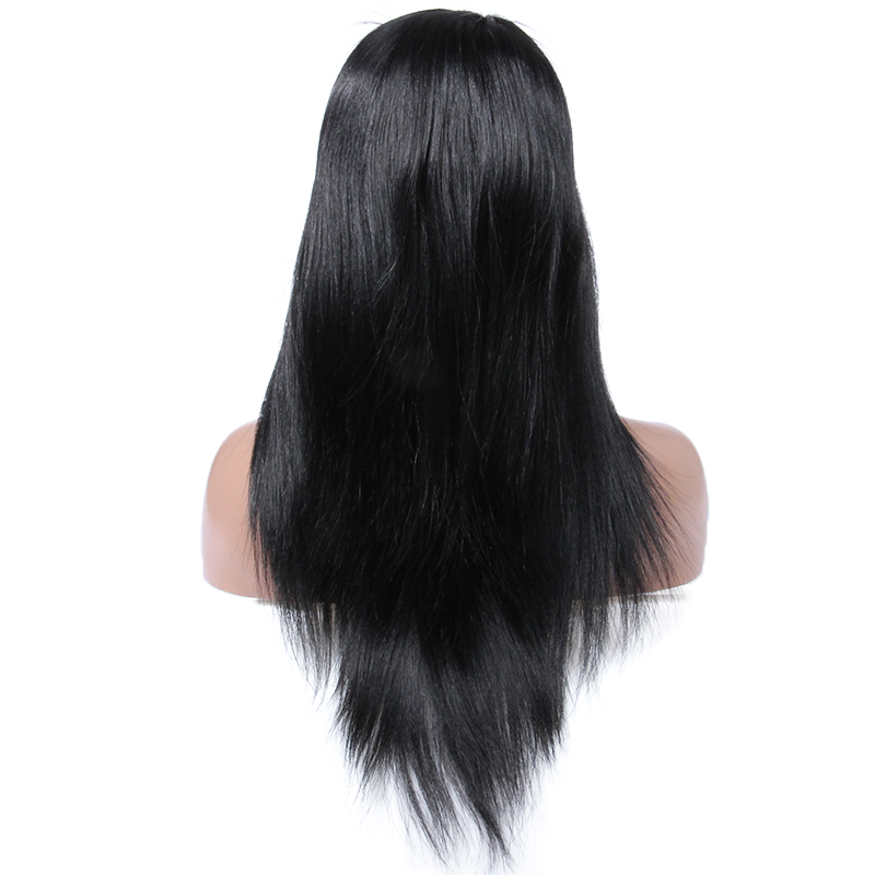 Wholesale straight Cheap virgin remy hair, Unprocessed virgin Brazilain full lace human hair wig