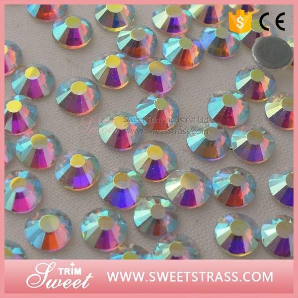 ss20 crystal ab cheap hot fix rhinestone wholesale