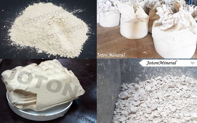 Washed Kaolin Powder, Washed Kaolin Cake from Viet Nam kaolin mine