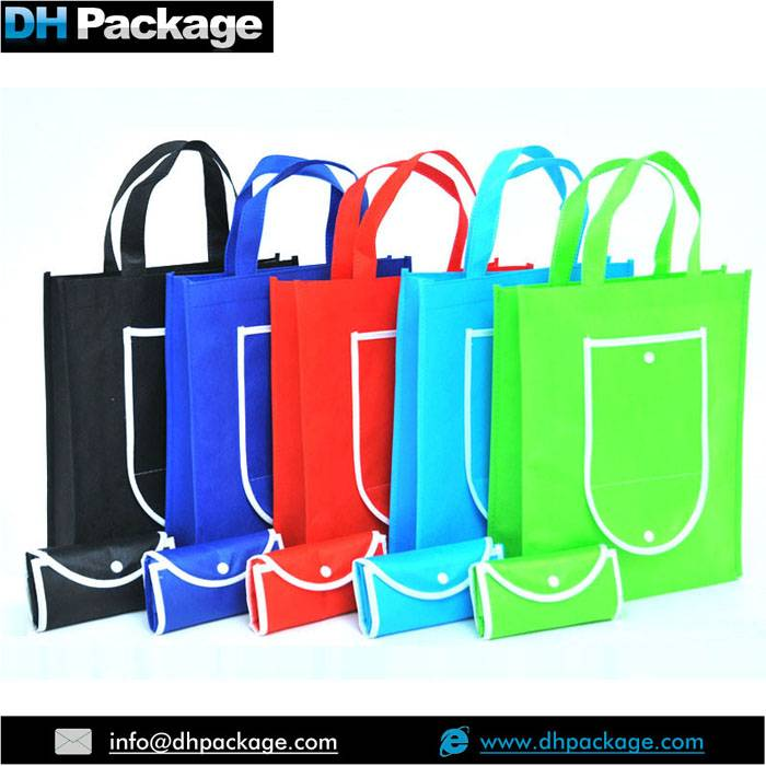 Lightweight Beach Tote Bag, Nautical Style Non Woven Foldable Shopping Bag, multicolor non woven bag