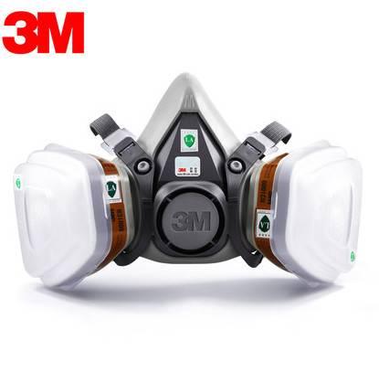 3M6100 protective mask mask anti organic inorganic compound anti chemical, nuclear radiation