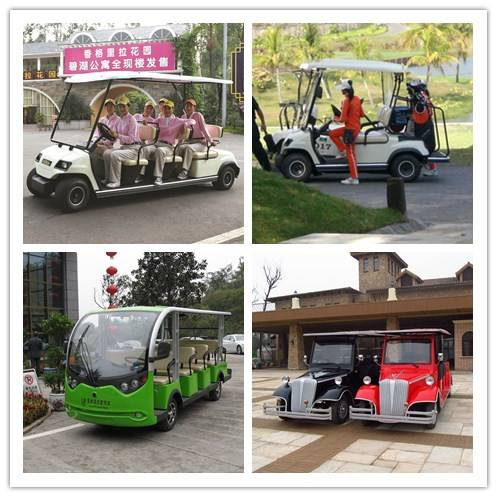 Golf Carts, Sightseeing Buses, Electric Vehicles, Electric Cars