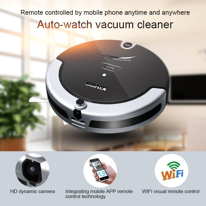 KVC5 wifi visual auto vacuum cleaner